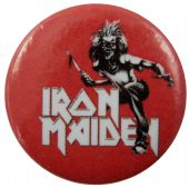 Iron Maiden - 'Killers Red' Button Badge